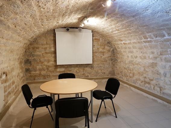 Salle de cours pour l'école d'anglais de Paris Gare de Lyon